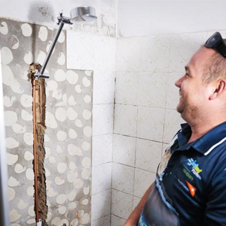 Leaking Shower Carina